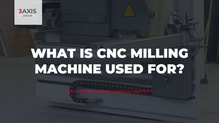 What is CNC milling machine used for