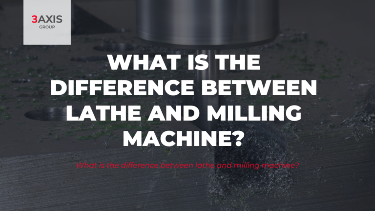 What is the difference between lathe and milling machine